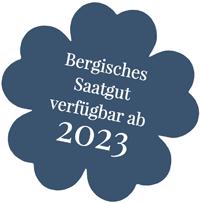 Bergisches Saatgut, verfügbar ab 2023